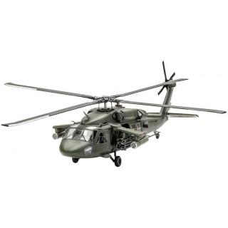 Plastic ModelKit vrtulník 04940 - UH-60A Transport Helicopter (1:72)