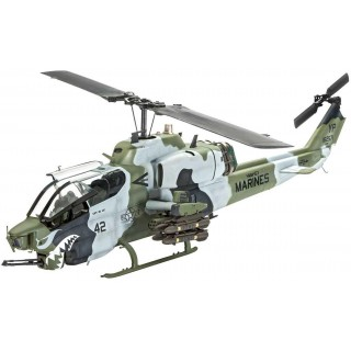 Plastic ModelKit vrtulník 04943 - AH-1W SuperCobra (1:48)