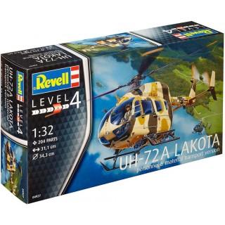 Plastic ModelKit vrtulník 04927 - UH-72 A Lakota (1:32)
