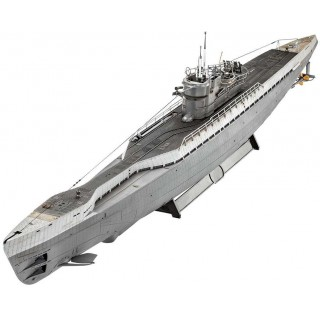 Plastic ModelKit ponorka 05133 - German Submarine Type IX C/40 (1:72)