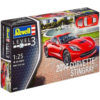 Plastic ModelKit auto 07060 - 2014 Corvette Stingray C7  (1:25)