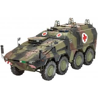 Plastic ModelKit military 03241 - GTK Boxer sgSanKfz (1:35)