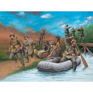Plastové figurky 02508 - German Engineers WW II (1:72)