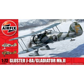 Classic Kit letadlo A02063 - Gloster Gladiator MkII  (1:72)
