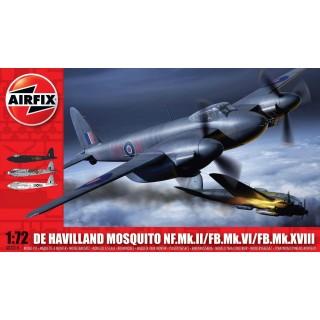 Classic Kit letadlo A03019 - de Havilland Mosquito NF.II/FB.VI/MkXVIII (1:72)