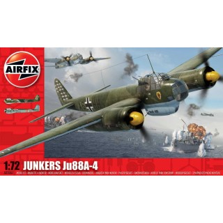Classic Kit letadlo A03007 - Junkers Ju88 A4 (1:72)