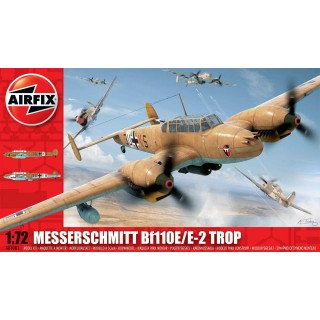 Classic Kit letadlo A03081 - Messerschmitt Bf110E-2 Trop (1:72)