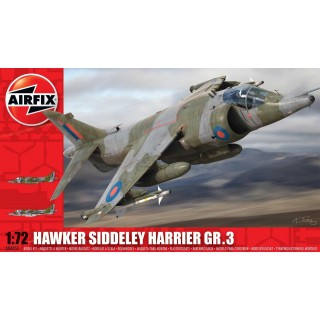 Classic Kit letadlo A04055 - Hawker Siddeley Harrier GR3 (1:72)
