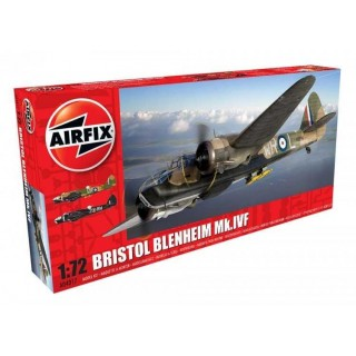 Classic Kit letadlo A04017 - Bristol Blenheim MkIV (Fighter) (1:72)