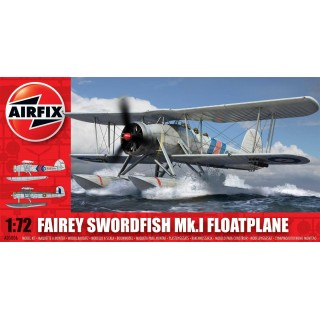 Classic Kit letadlo A05006 - Fairey Swordfish Mk1 Floatplane (1:72)