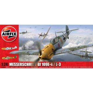 Classic Kit letadlo A12002A - Messerschmitt Bf109 E (1:24)
