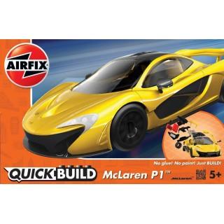 Quick Build auto J6013 - McLaren P1 - žlutá