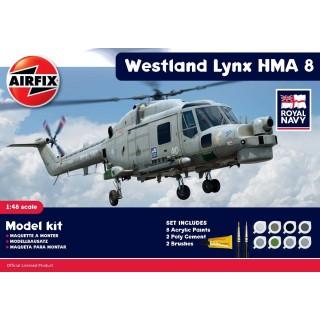 Gift Set vrtulník A50112 - Westland Lynx HMA.8 (1:48)