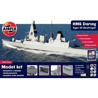 Gift Set loď A50132 - HMS Daring Type 45 Destroyer (1:350)
