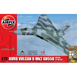 Gift Set letadlo A50097 - Avro Vulcan (1:72)