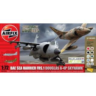 Gift Set letadlo A50134 - Douglas A-4P Skyhawk BAe Sea Harrier FRS-1 (1:72)