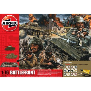 Gift Set diorama A50009 - D-Day Battlefront (1:76)
