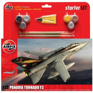 Starter Set letadlo A55301 - Panavia Tornado F3 (1:72)