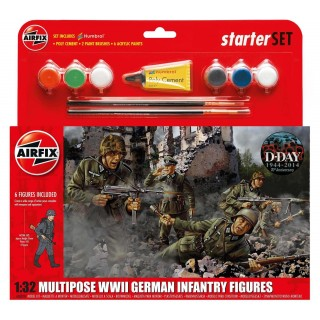 Starter Set figurky A55210 - German Infantry Multi-Pose (1:32)