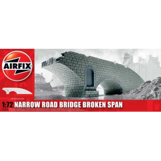 Classic Kit budova A75012 - Narrow Road Bridge Broken Span (1:72)