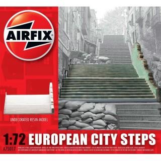 Classic Kit budova A75017 - European City Steps (1:72)