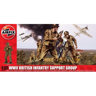 Classic Kit figurky A04710 - WWII British Infantry Support Set (1:32)
