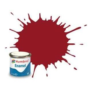 Humbrol barva email AA0223 - No 20 Crimson - Gloss - 14ml