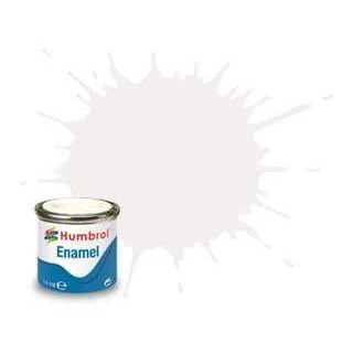 Humbrol barva email AA0240 - No 22 White - Gloss - 14ml
