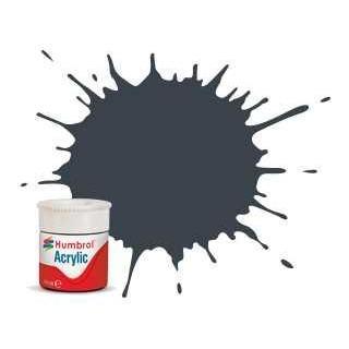 Humbrol barva akryl AB0032 - No 32 Dark Grey - Matt - 12ml