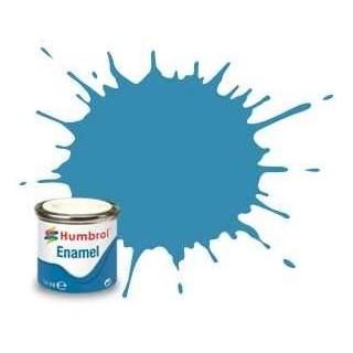 Humbrol barva email AA0521 - No 48 Mediterranean Blue - Gloss - 14ml