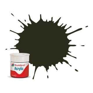 Humbrol barva akryl AB0053 - No 53 Gunmetal - Metallic - 12ml