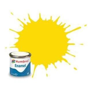 Humbrol barva email AA0761 - No 69 Yellow - Gloss - 14ml