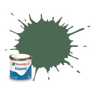Humbrol barva email AA0847 - No 76 Uniform Green - Matt - 14ml