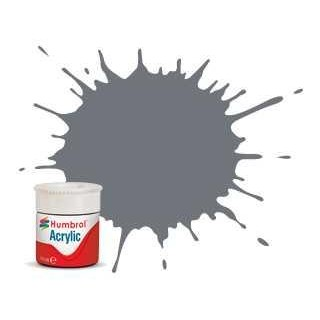 Humbrol barva akryl AB0164 - No 164 Dark Sea Grey - Satin - 12ml