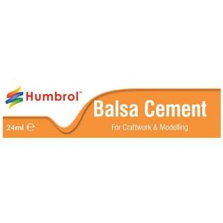 Humbrol Balsa Cement AE0603 - rychleschnoucí lepidlo na balzu 24ml tuba