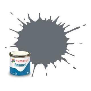 Humbrol barva email AA1359 - No 123 Extra Dark Sea Grey - Satin - 14ml