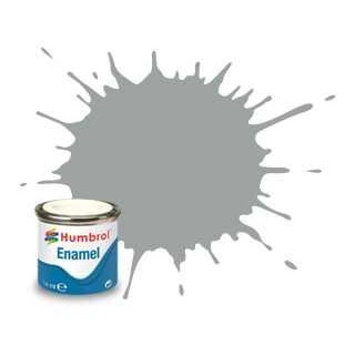 Humbrol barva email AA1420 - No 129 US Gull Grey - Satin - 14ml