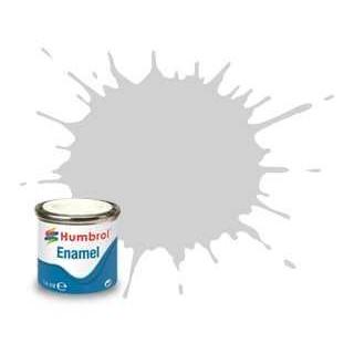 Humbrol barva email AA1599 - No 147 Light Grey - Matt - 14ml