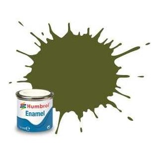 Humbrol barva email AA1626 - No 150 Forest Green - Matt - 14ml