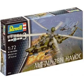Plastic ModelKit vrtulník 04944 - Mil Mi-28n Havoc (1:72)