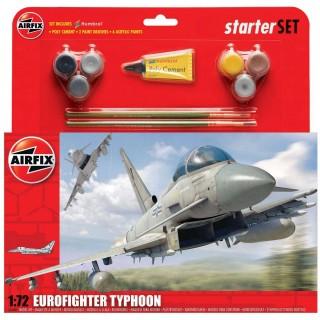 Starter Set letadlo A50098 - Eurofighter Typhoon (1:72)