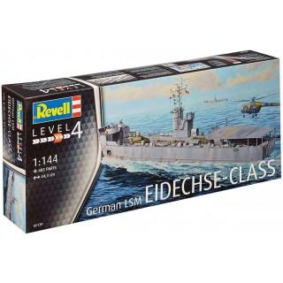 Plastic ModelKit loď 05139 - German LSM Eidechse Class (1:144)