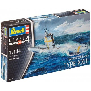 Plastic ModelKit ponorka 05140 - German Submarine Type XXIII (1:144)