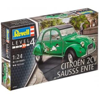 """Plastic ModelKit auto 07053 - Citroen 2 CV """"Sauss Ente"""" (1:24)"""