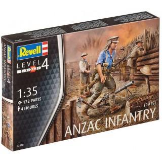 Plastic ModelKit figurky 02618 - ANZAC Infantry (1915) (1:72)