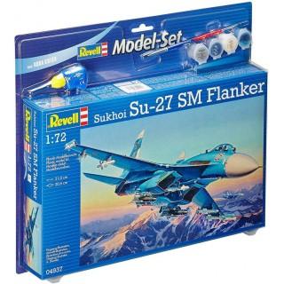 ModelSet letadlo 64937 - Sukhoi Su-27 SM Flanker (1:72)