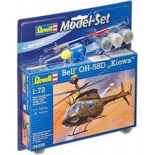 "ModelSet vrtulník 64938 - Bell OH-58D ""Kiowa"" (1:72)"