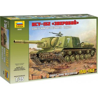 Model Kit military 3532 - ISU-152 Soviet Self-propelled Gun (1:35)
