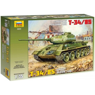 Model Kit tank 3533 - T-34/85 Soviet Tank (1:35)