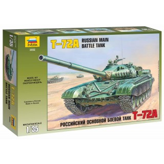 Model Kit tank 3552 - T-72A Russian Main Battle Tank (1:35)
